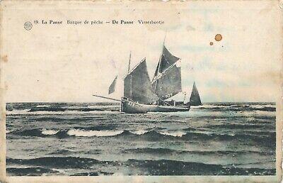 CPA - Belgique - De Panne - La Panne - Barque de pêche