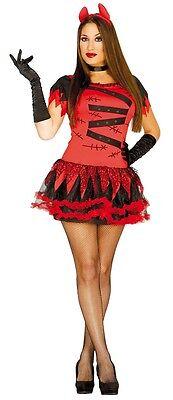 Femme Sexy Démoniaque Devil Monster Démon Halloween Déguisement Costume Tenue
