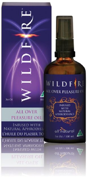 Wildfire All Over Pleasure Oil Infused With Natural Aphrodisiacs