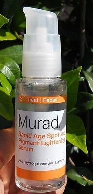Murad Rapid Age Spot And Pigment Lightening Serum 2 Oz   No Box