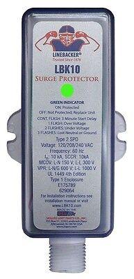 Supco Lbk10 Linebacker Surge Protector - Hvac Equipment Protection