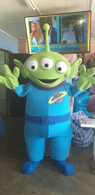 Aliens Toy Story Mascot Costume Party Character Birthday - Aliens Toy Story Kostüm