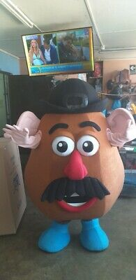 Mr. Potato Head Toy Story Mascot Costume Party Character Birthday Halloween - Toy Story Characters Halloween Costumes