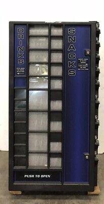 Edina Snack Column Candy Vending Machine Tested 115 Volt Fmr-15 New