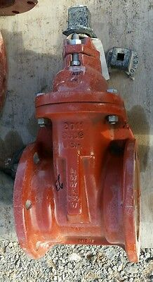 Mh Valve 6 A.w.w.a C-509 Resilient Wedge Gate Valve Mechanical Joint
