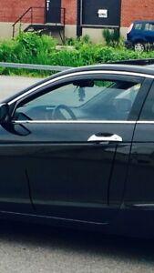 Weathertech window visors accord coupe