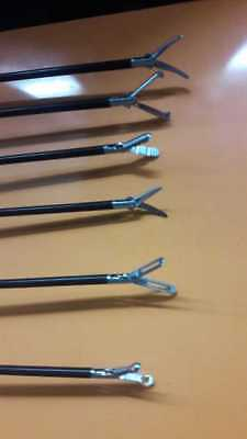 Addler Laparoscopy Graspers Scissor Dissector Forceps Instruments 6 Piece