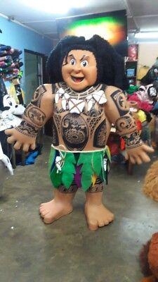 Maui Moana Maskottchen Kostüm Charakter Party Halloween Cosplay Hawaii Man