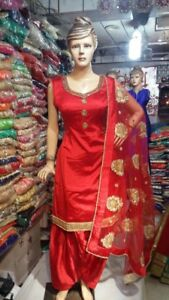 Clearance sale on Indian ladies clothing patiala suit Anarkali