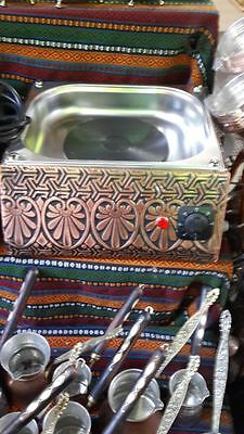 Turkish Arabic Copper Hot Sand Coffee Maker Coffee Heater Trustworthy Kumda Kahve