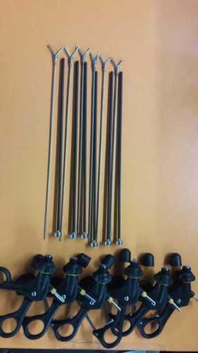 Laparoscopy Instruments Grasper Set Of 6 Laparoscopic Free Shipping