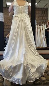Ivory Wedding Dress - Worn One Day and Dry Cleaned