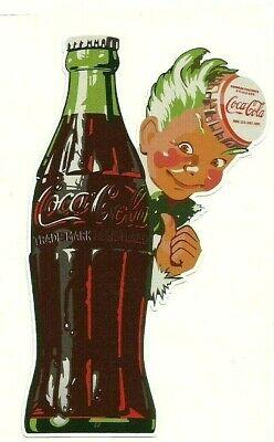 """""""COCA COLA SPRITE BOY"""" Decal / VINYL STICKER SODA COKE VINTAGE RETRO"""