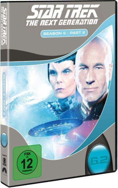 STAR TREK: THE NEXT GENERATION, Season 6.2 (4 DVDs) NEU+OVP
