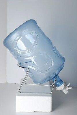 Разное SIlver Metal Cradle&White ScrewTap Dispenser