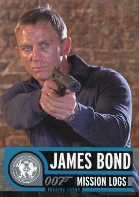 James Bond 007 Mission Logs promo card P1