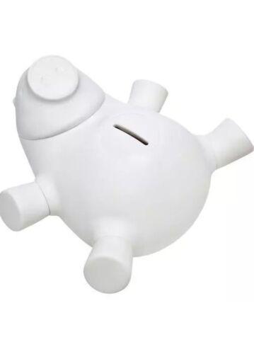 Quirky Porkfolio Smart Electronic Piggy Bank White Wifi App - Track Your Savings