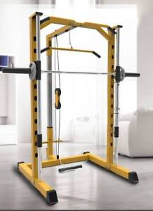 【delivery for free】squat power rack on sale gym & fitness