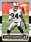 Panini Charles Woodson Oakland Raiders Football Cards