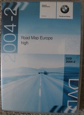 BMW ROAD MAP EUROPE HIGH DVD DISC 2004-2 # T1000-7794 [FOR GPS MK4 DVD SYSTEMS]