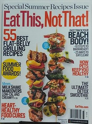 Eat This Not That Summer 2017 Best Flat Belly Grilling Recipes FREE SHIPPING