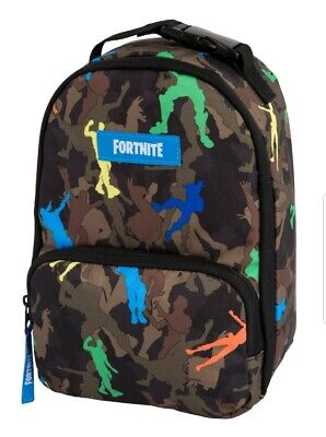 FORTNITE Game Lunch box School Bag Lunch Kit ~NEW 2019 CAMO DANCE LOOT LLAMA New