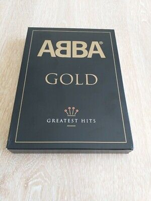 ABBA Gold Greatest Hits 2 CD and 1 DVD set as new boxed