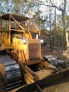 Dozer Bulldozer  hire - Fenceline, wattle, lantana re-growth farm Lockyer Waters Lockyer Valley Preview