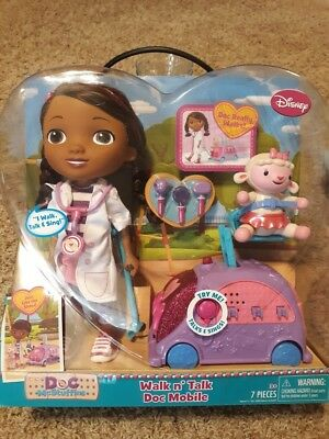 Doc McStuffins Walk N' Talk Doc Mobile Doll Disney for sale  Shipping to India
