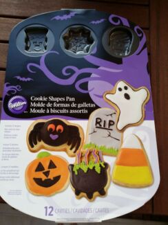 Wilton  Halloween cookies pan Strathfield Strathfield Area Preview