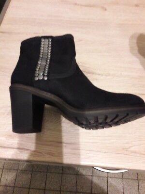 Graceland Damenschuhe Stiefel Stiefeletten Pumps Hoher Absatz 9cm Gr 39 Schwarz (Schwarze Pumpe Erwachsene Schuhe)