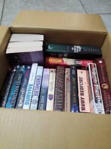 Box of Mixed Ficton Books - 20