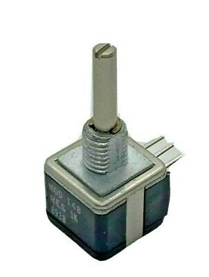 Potentiometer Precision Spectrol Res 1k Model 148 8938 Nos