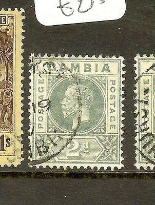GAMBIA  (P1603B) KGV 2D   SG89   VFU