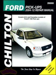 SHOP MANUAL SERVICE REPAIR CHILTON BOOK FORD F150 PICKUP TRUCK WORKSHOP GUIDE XL