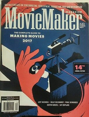 Movie Maker Magazine 2017 Complete Guide To Making Movies Free Shipping Sb