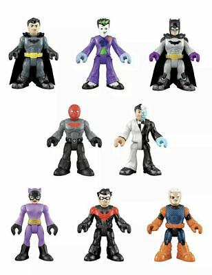 Imaginext DC Super Friends Series 1 Blind Bags Complete Set 8 SLADE RED HOOD &