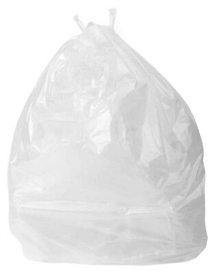 Clear Light Duty Refuse Sacks 18