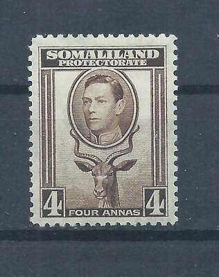 Somaliland stamps.  1938 George VI 4a Greater Kudu MH SG 97 (P324)