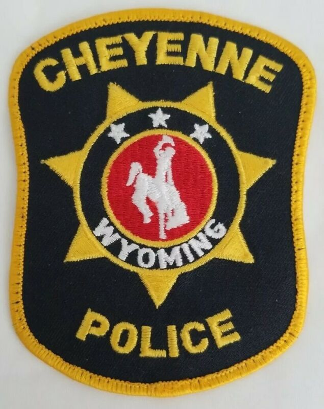 Cheyenne Police (Wyoming) 3rd Issue Shoulder Patch state capital collection