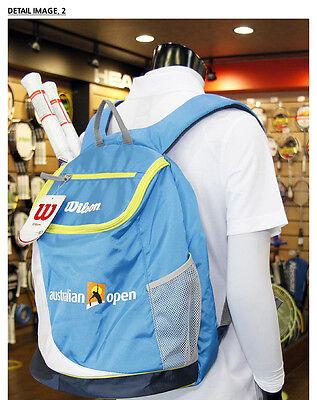 Wilson Tennis Backpack Australian Open Tennis Bag Sports Racket Court NEW 660396