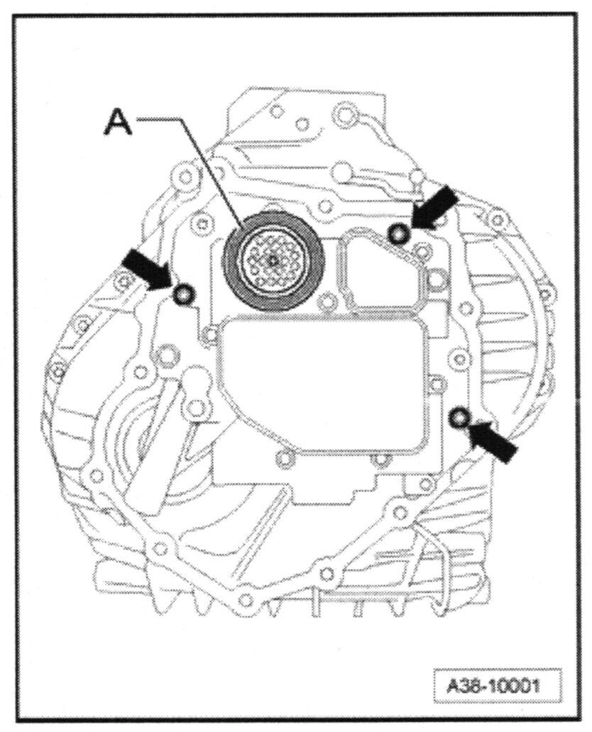 Remanufactured Repair Kit 4 2005-2008 Audi A4 A6