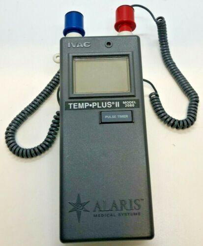Alaris Medical 2080D Temp Plus II Thermometer, Oral & Rectal - Used