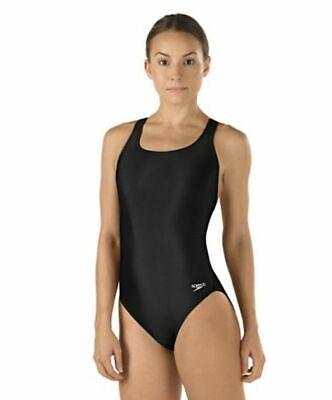 Speedo Women's Black Y-Back Super PRO LT One-Piece Competition Swimsuit (Women's Competition Swimwear)