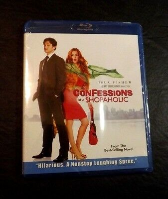 CONFESSIONS OF A SHOPAHOLIC BLURAY DVD DISC - ONE - 105 MIN 2009 BLU-RAY RELEASE