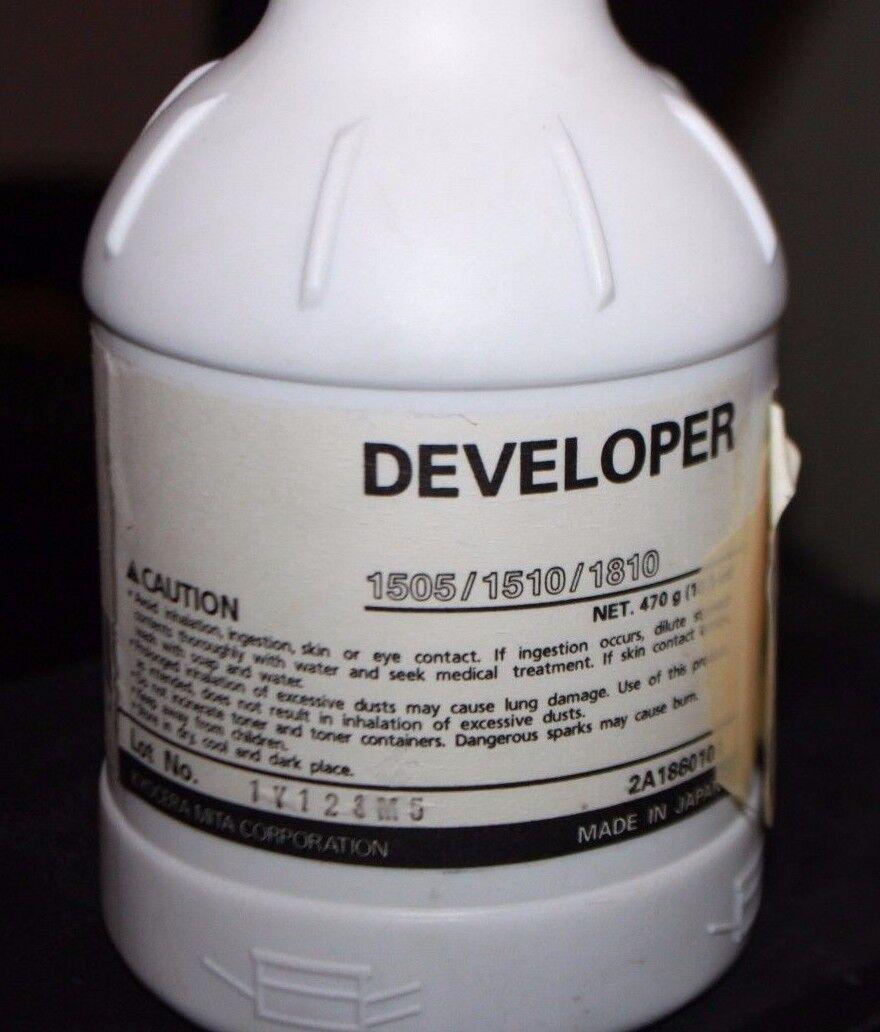 Genuine Kyocera Mita 37029111 Black Developer Copystar CS 1505 1510 1810