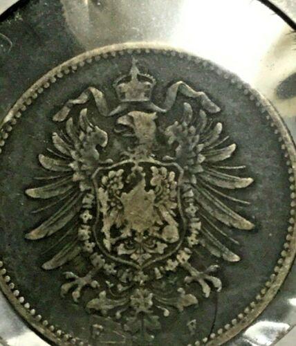 Germany  1 Mark 1883 F