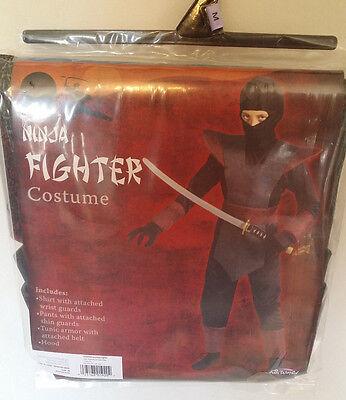 Halloween Ninja Fighter Costume Boys Size Medium