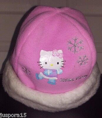 Sanrio Girls Multi Color Hello Kitty Beanie Hat Size 2-4