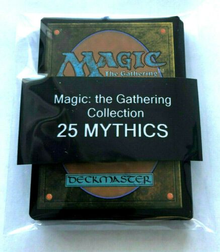 Magic The Gathering Mythic 25 Card Mythic Lot - All 25 Mythic Rare Rarity Only